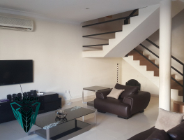 550 BHD - Semi Furnished 3 Bedroom Townhouse  in juffair with private pool