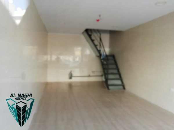 Shop for rent with mazzine floor in gudaibiya