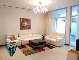 FULLY FURNISHED 3 BR COMPOUND VILLA FOR RENT IN ADLIYA