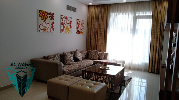 2 Br Fully Furnished Apartment For Rent In new Hidd