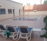 Furnished 4 bedrooms villa in juffair with common facilities