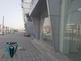 Showroom on Prime location of Sanad highway