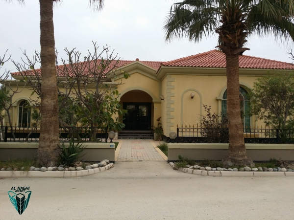 3 BEDROOM SEMI-FURNISHED VILLA WITH SWIMMING POOL FOR RENT IN JANABIYA