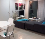 1 Bedroom modern furnished apartment with balcony & garden view