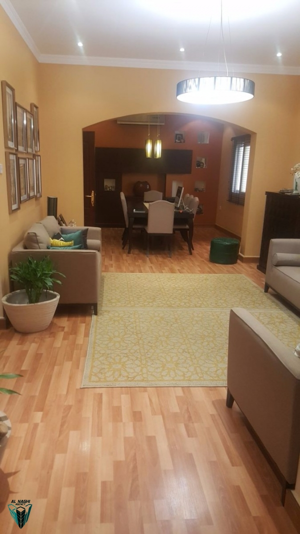 Fully-Furnished 5  bedroom villa for rent in  Sanad