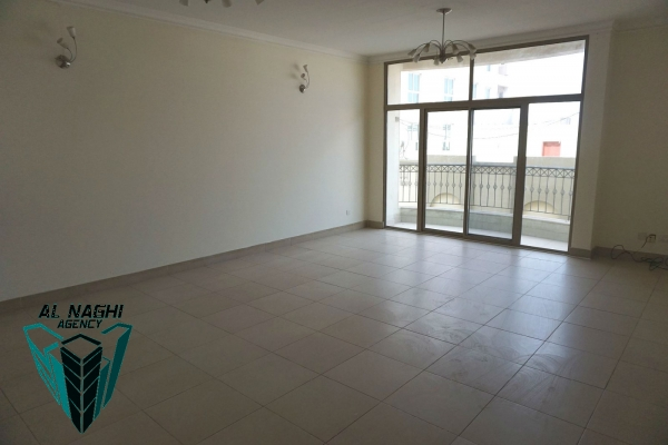 350 BHD - 3 BEDROOM SEMI FURNISHED APARTMENT WITH BALCONY